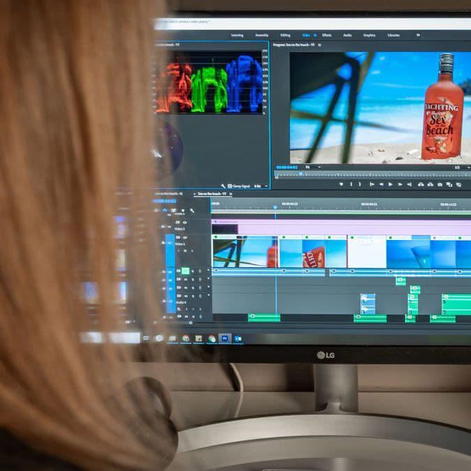 Productvideo bewerken in Premiere Pro